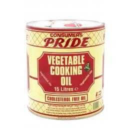 Pride Vegetable Cooking Oil 15L