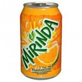 Mirinda Orange 24x330ML Cans