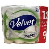 Velvet Toilet Tissue 2 Ply 12 pack