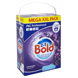 Bold 2in1 Washing Powder Lavender 85W
