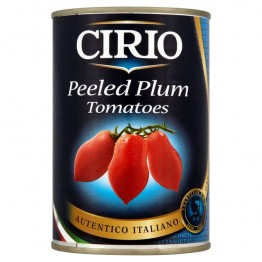 Cirio Peeled Plum Tomatoes  12x400g