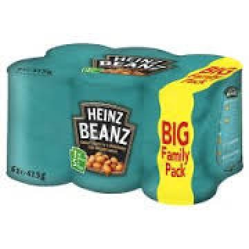 Heinz Baked Beans 6x410g