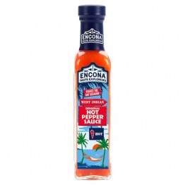 Encona West Indian Hot Pepper Sauce 220ml