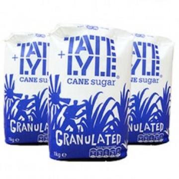 Tate & Lyle White Granulated  Sugar 15x1kg