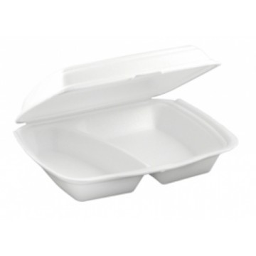 Foam Container HP4 Mealbox 2 Comp