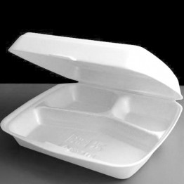 Foam Container HP4 Mealbox 3 Comp