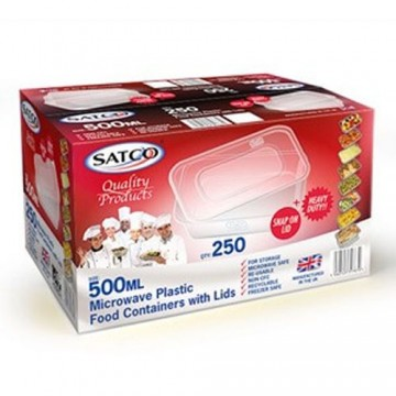 Satco 500ML Food Containers (250)