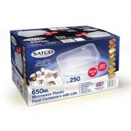 Satco 650ML Food Containters (250)