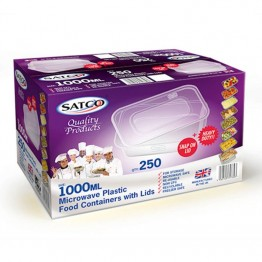 Satco 1000ML Food Container (250)