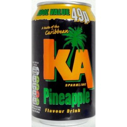 KA Fruit Pineapple 24x330ML Cans PM 49p