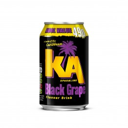 KA Fruit Black Grape 24x330ML Cans PM 49p
