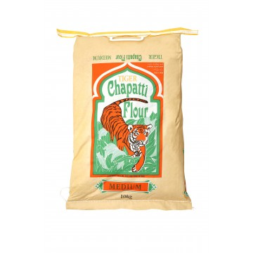 Tiger Chapatti Flour Medium 10kg