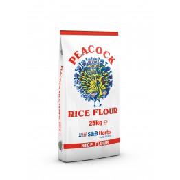 Peacock Rice Flour 25kg
