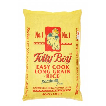 Tolly Boy Easy Cook Rice 40kg