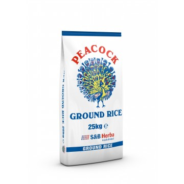 Peacock Ground Rice 25kg